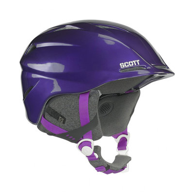 Scott Tracker Skihelm Paars