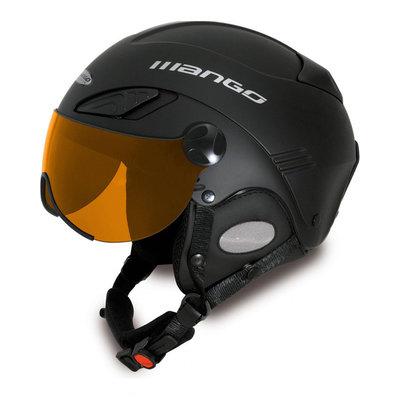 Mango Wind XP Visor Skihelm met Vizier Zwart