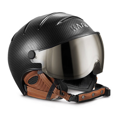 Skihelm Kask elite pro  - carbon brown -  Vizier cat. 2(☁/❄)