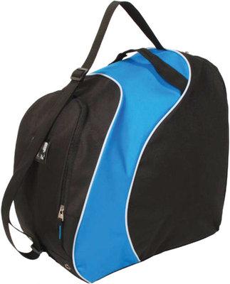 Skischoenen Tas & Skihelm tas Sapporo Zwart Blauw | Nooit meer met 2 tassen slepen!