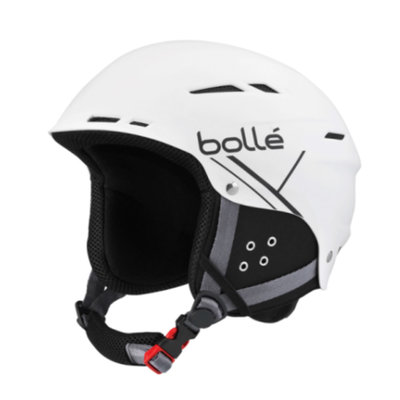 Skihelm Bollé B-Fun Soft White - Black