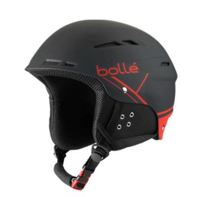 Skihelm met vizier Bollé B-Fun - Black Red