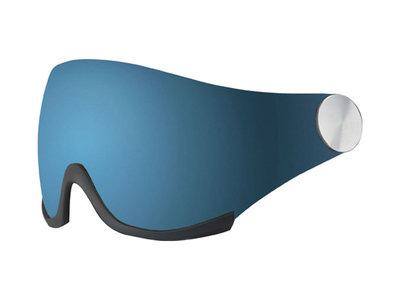 Bollé Backline skihelm vizier los - Grey Blue CAT. 3 (☀)