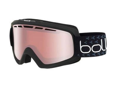 Bollé Goggle Nova ll Matte Black & White Vermillon Gun  ☁/☀