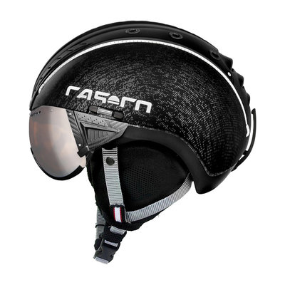 Skihelm Casco SP-2 Vizier - zwart - cat.1-3(☁/❄)