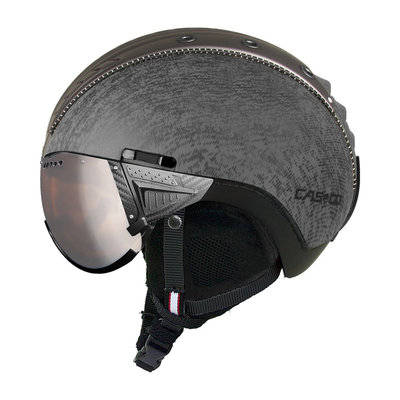 Skihelm Casco SP-2 Vizier - grijs metallic - cat.1-3(☁/❄)