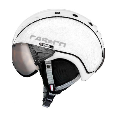 Skihelm Casco SP-2 Vizier - wit - cat.1-3(☁/❄)