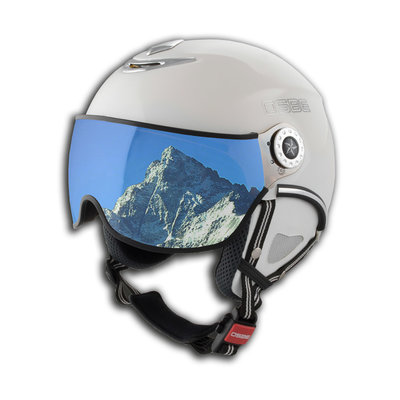 Skihelm Osbe proton snow  - shiny white - Cat. 1-3(☁/❄)