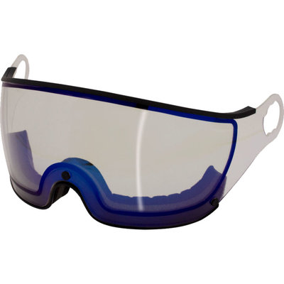 Mango Skihelm Vizier Meekleurend Flash Blue Black (☁/❄/☀) - voor Mango cusna & quota & alpina jump