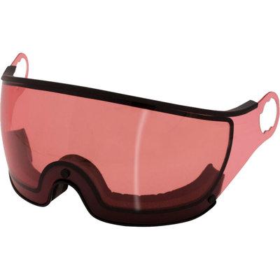 Mango Skihelm Vizier Meekleurend & Polariserend roze (☁/❄/☀) - voor Mango cusna & quota & alpina jump