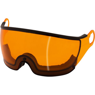 Mango Skihelm Vizier Meekleurend Oranje (☁/❄/☀) - voor Mango cusna & quota & alpina jump