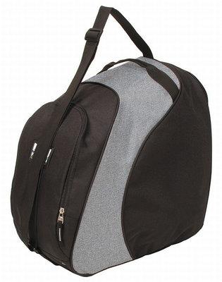 Skischoenen Tas & Skihelm tas Sapporo grijs zwart | Nooit meer met 2 tassen slepen!