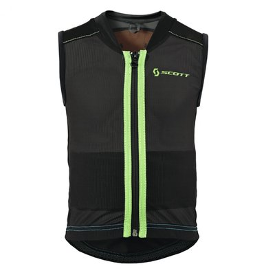 Scott Soft Actifit Jr Vest Protector L Zwart blue