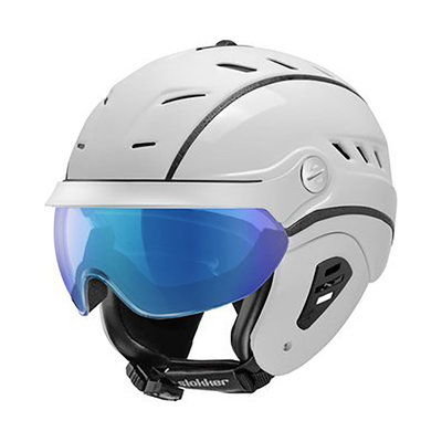 Skihelm Slokker Bakka Multi Layer - wit - photochromic Vizier  (☁/☀/❄)