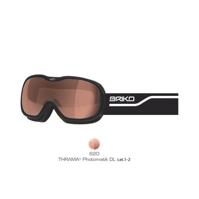 Skibril Briko helium  matt black thrama  (☁/☀)