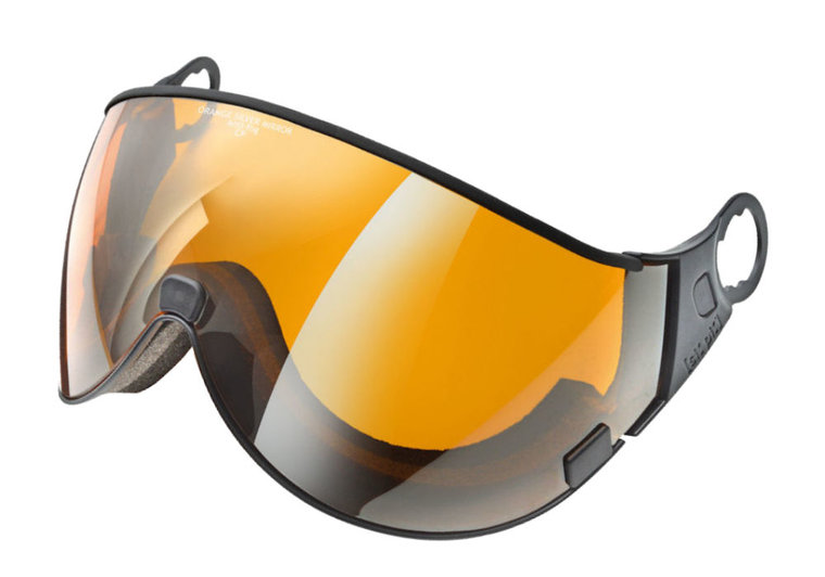 cp 01 skihelm vizier single lens - mirror visor - visier verspiegelt