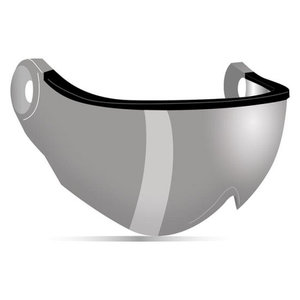 kask piuma R vizier los silver mirror - visor - visier