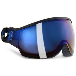 kask piuma r irridium mirror skihelm vizier - skihelm ersatz visier blau blue