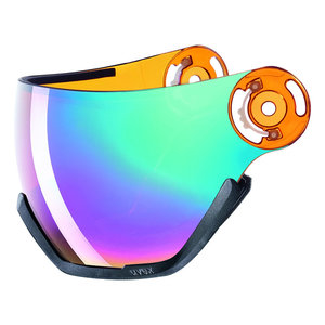 UA5682160305 Uvex vizie rlaser gold light rainbow - hlmt 400 ersatz visier visor exchange