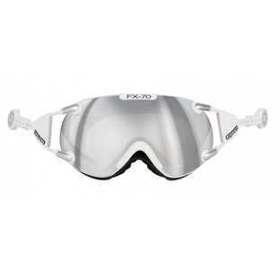 casco Skibril FX-70 carbonic white wit zilver  magnet Link kopen online bij topsnowshop 5002 40313817085024031381708502