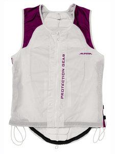 Alpina JSP Ergo Flex Jacket Protector Dames  White