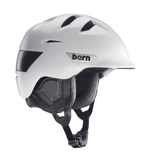 Bern Kingston Skihelm Satijn Wit