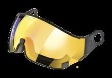 cp visor flash gold mirror